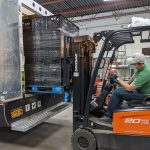 Putting Goods into a Truck